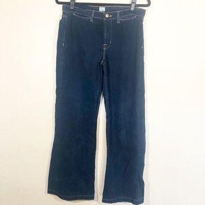 J Brand Malik wide leg Jeans 100% cotton 28